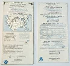New Orleans Sectional Chart Details About Collectible Vintage Aeronautical Chart New Orleans Sectional Terminal Area 91 95