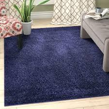 solid navy blue area rug 8x10