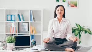 how to meditate in office. Office Meditation, Yoga At Work How To Meditate In O
