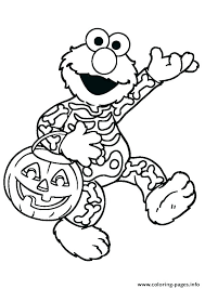 Sesame Street Birthday Coloring Pages