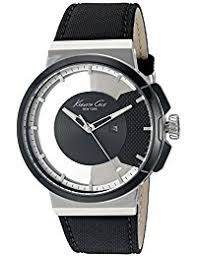 amazon in kenneth cole watches kenneth cole transparency analog black dial men s watch 10020855