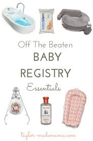 Baby Registry Essentials - None Of The Stuff You Won't Need!