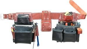 black leather tool belt occidental image to enlarge black leather tool belt