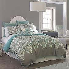 Grey & Blue Bedding For College Juxtapost