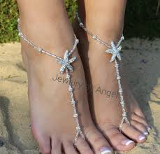 Rhinestone Foot Jewelry Wedding