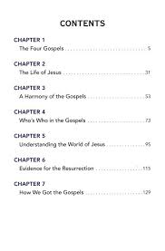 Rose Guide To The Gospels Side By Side Charts And Overviews