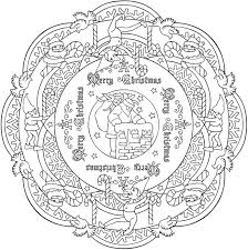 Small Picture 8 Christmas Coloring Pages For Adults