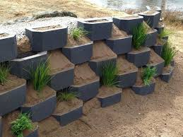 garden retention wall ebony garden retaining wall blocks perth
