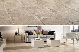 elegant engineered stone tile for the living room d4170 tuscan path cameo brown