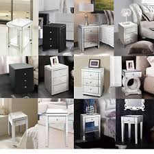 mirrorred furniture. image is loading foxhuntermirroredfurniture glassbedsidecabinettablewith mirrorred furniture s