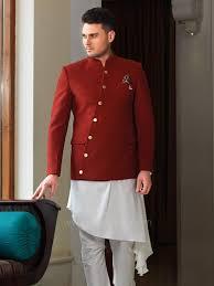 Mens Koti Design Stylish Koti With Silk Kurta And Bottom Rajwadi