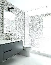 grey hexagon tile bathroom tile shower surround gray kids bathroom features grey hex tiles on the grey hexagon tile bathroom