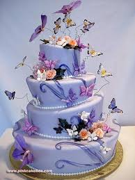 Madame Butterfly Cakes 24 Best Butterflies Birthday Cakes Images On