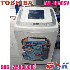 Máy giặt Toshiba Inverter AW-D950SV 9kg, lồng đứng, giá rẻ, bảo hành