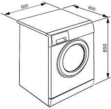 washing machine sketch. technical drawing · instruction manual washing machine sketch s