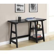 furniture black wooden console office furniture