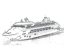 Lovely Disney Cruise Coloring Pages For Cruise Ship Coloring Pages