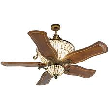 Craftmade Cortana Peruvian Ceiling Fan With 54 Inch Custom Carved