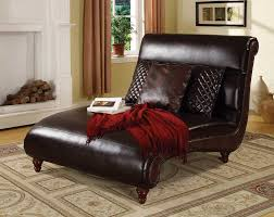 Leather Bedroom Chairs Acme Kimberlee Bonded Espresso Leather Match Chaise Lounger Set