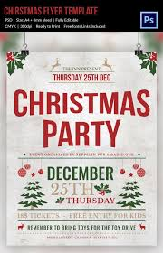 Work Christmas Party Flyers Work Christmas Party Flyer Template Designchristmas Party Flyer