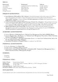 Marketing skills resume is one of the best idea for you to make a good  resume 1