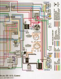 Color66wiringdiagramrighthalf300dpi~original 1966 wiring schematics diagrams lamps fuses chevelle tech on 66 chevelle wiring diagram