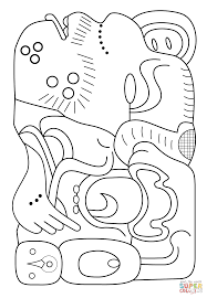 Small Picture adult mayan coloring pages aztec mayan olmec coloring pages mayan