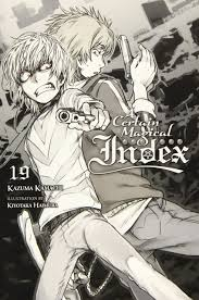 Index Light Novel A Certain Magical Index Vol 19 Light Novel Kazuma