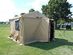 Modular Tent System Military Surplus Command Post Tent 11 X 11 Desert Tan Alpha