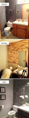 Pallet Wall Bathroom 50 Gorgeous Bathroom Makeovers With Before And After Photos Hative