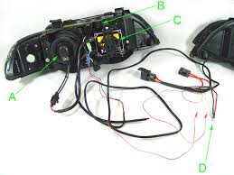 e46 headlight wiring diagram e46 image wiring diagram 1997 2003 bmw 5 series e39 depo projector angel halo headlight on e46 headlight wiring diagram