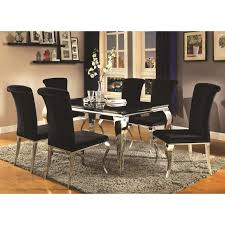 coaster carone table and chair set item number 105071 6x105072