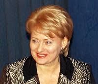 Даля Грибаускайте dalia grybauskaite президент Литвы Первые  Недавно июль 2009 года президентом другой балтийской республики Литвы стала Даля Грибаускайте