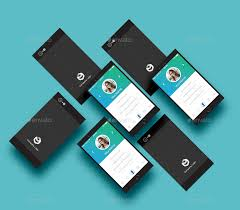 Clean Iphone 6 Business Card By Artroeb Graphicriver