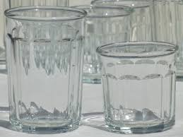 crate barrel french style jelly glasses canning jar drinking glasses