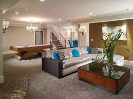 Basement Living Rooms Creative