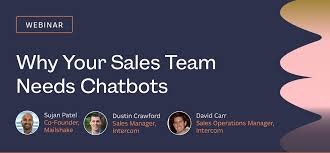 Chatbots: Why Every Modern Sales Team Should Use Them