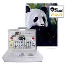 panda paint set