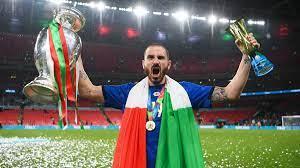 34 عاما و71 يوما أقدم هداف، بونوتشي نجم نهائي المباراة يورو 2020