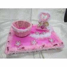 Baby Shower Tray Decoration Baby Shower Return Gift Metal Trolley Manufacturer from New Delhi 39