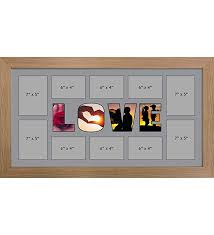 kwik picture framing ltd love photo frame personalised name frames large multi love word photo