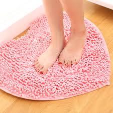 heart shaped rug heart shaped fluffy red bedroom mats custom chenille doormat non slip heart shaped heart shaped rug