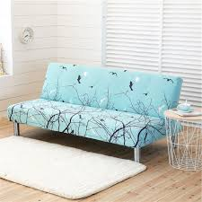 universal size armless sofa bed stretch