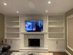 family room fireplace refresh