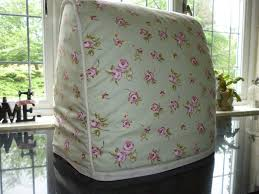 Rose Cottage Country Kitchen Country Cottage Shabby Chic Rose Green Kitchen Food Mixer Cover