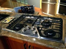 kitchenaid gas cooktop with downdraft gas gas parts best inch