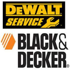black and decker logo. dewalt black \u0026 decker and logo