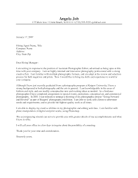 Photographer Cover Letter Photographer Cover Letter Sample Complete Guide Example 4