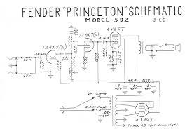 Схемы всех издеРий фирмы fender guitarwork ru princeton 5e2