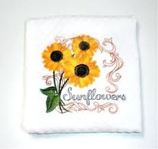 sunflower dish towels sunflower towel sunflower gift sunflower decor gardener sunflower kitchen towels pot holders